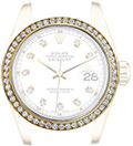 Yellow Gold + Diamonds Bezel