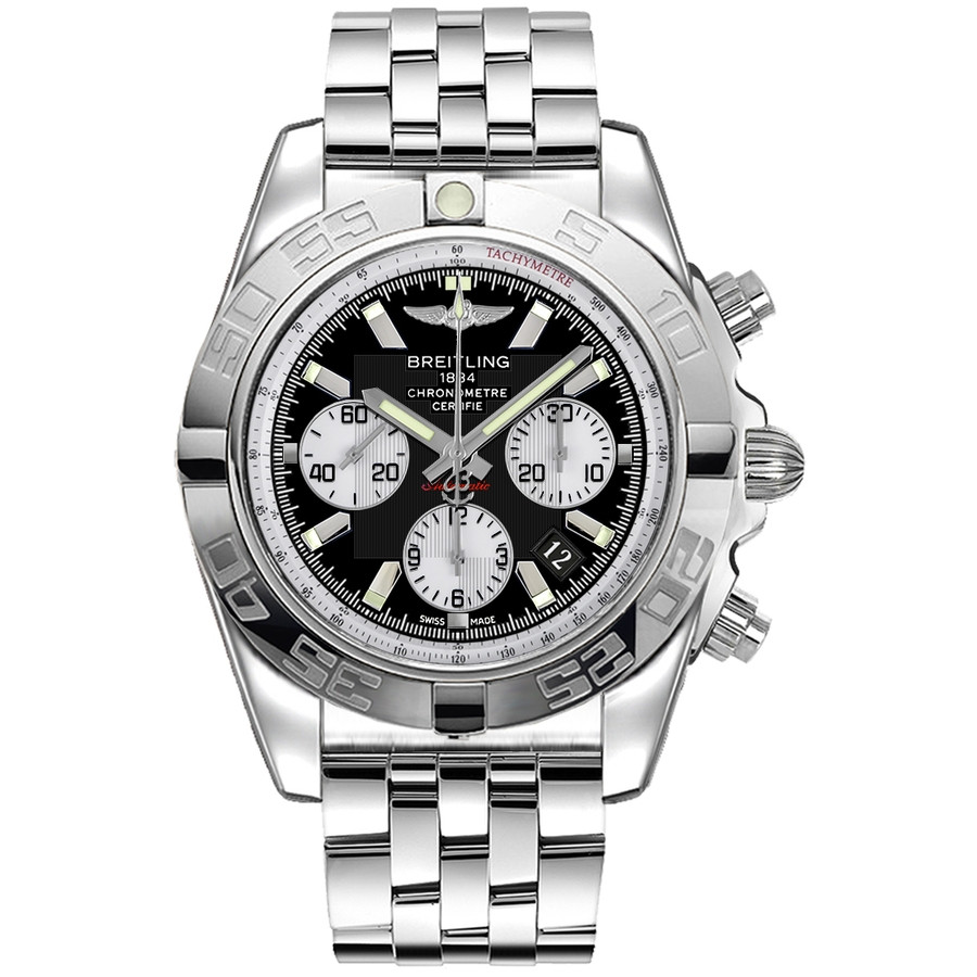 new york c0c57 b39bf Breitling Chronomat 44 AB011012/B967/375A Stainless Steel Watch