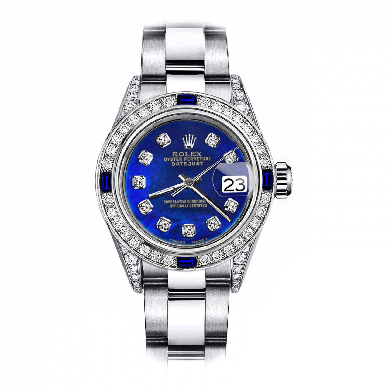 Rolex Treated Pearl 31mm Datejust Stainless Steel ...